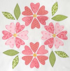 How did everyone do with their appliqué blocks? I choose to make one of the variations from the Block 3 Mini Lesson. To Link Up Your Photo Scroll down to the comment form at the end of this post. Fill in your info and make sure you select an