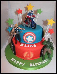 Avengers cake- probably the one!
