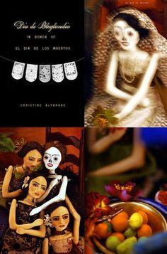 Art Dolls by Du Buh Du Designs: ~ Dia de Bloglandia ~ In honor of el Dia de los Muertos