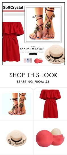 """""""SoftCrystal"""" by newoutfit ❤ liked on Polyvore featuring Eugenia Kim, Eos and Nails Inc."""