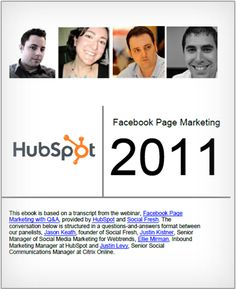 #Facebook Page #Marketing in 2011   more at j.mp/madamme just click at image to download #free #ebook