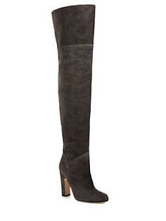 Brian Atwood - Rommy Suede Over-The-Knee Boots