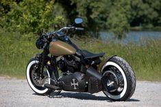 #Thunderbike CattleCrosser (customized #Harley-Davidson #Softail Cross Bones) #motorcycle