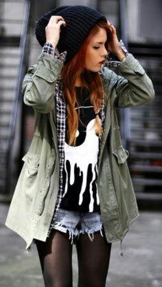 T-shirt: yinyang hat coat