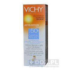 Vichy Capital Soleil, łagodne mleczko dla dzieci, SPF50+, 100 ml,61pln