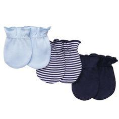 3-pack Mittens   Baby Boy Baby Essentials