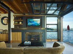 Stunning Houseboats for Aquatic Living