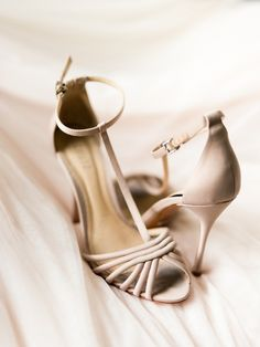 Featured Photographer: Jen S Photography; wedding shoes idea