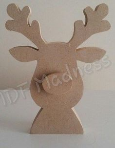 mdf 3 - Wood How to Crafts Christmas Wood Crafts, Christmas Items, Christmas Projects, Holiday Crafts, Christmas Crafts, Christmas Ornaments, Reindeer Christmas, Mdf Christmas Decorations, Wood Reindeer