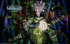 Sheri Rene Scott (who was also in Disney's AIDA on Broadway) played Ursula, the comic villain in THE LITTLE MERMAID