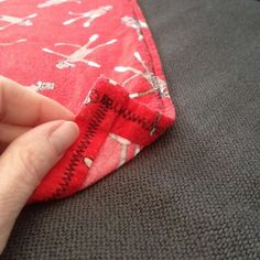 How to make a swaddle blanket... If only I knew how to sew!