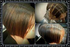 Mechas bala yate cabello corto