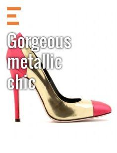 love! shiny heels!