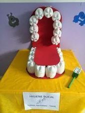 Dental Activities for Kids - Todo Sobre La Salud Bucal 2020 Science Projects, School Projects, Projects For Kids, Crafts For Kids, Health Activities, Preschool Activities, Dental Health Month, Oral Health, Kids Education