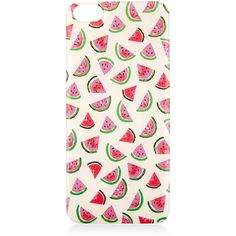 Accessorize Watermelon Print Phone Sticker Iphone 5 (€2,39) ❤ liked on Polyvore featuring accessories, tech accessories, phone cases, phone, electronics and tech