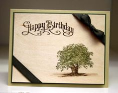 Wood Sheet Birthday by StampingSelene - Cards and Paper Crafts at Splitcoaststampers