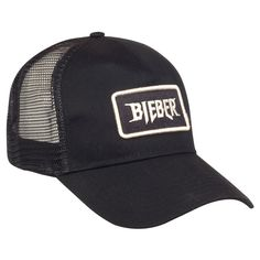 Bieber Patch Trucker Hat – Purpose Tour Merchandise