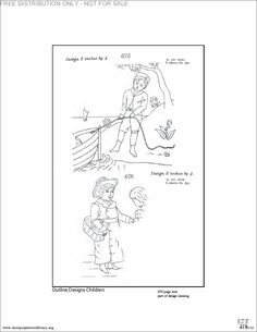 Antique Pattern Library Briggs 's  Printable PDF