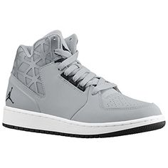 Jordan 1 Flight 3 - Boys' Grade SchoolAn off-court look inspired by one of  the true legends of the game.Leather and nubuck upper with a fused lateral  collar ...