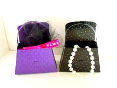 Paper Purse Party Favors set of 4 by SuperCraftyLady on Etsy, $14.00