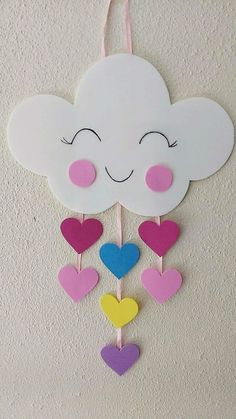 diy decoracao festa chuva amor eva for likes pictures Spring Crafts For Kids, Paper Crafts For Kids, Diy Home Crafts, Craft Activities For Kids, Preschool Crafts, Diy For Kids, Summer Crafts, Foam Crafts, Easter Crafts