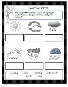 Periodic table projects that engage your students using the meteorologist mike introduces basic terminology used to forecast weather conditions a great into activity to urtaz Images