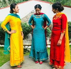 New Wedding Dresses Summer Simple Beautiful Ideas Dress Indian Style, Indian Dresses, Indian Outfits, Embroidery Suits Punjabi, Embroidery Suits Design, Indian Embroidery, Embroidery Ideas, Punjabi Suits Party Wear, Indian Party Wear