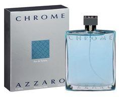 Chrome Cologne by Azzaro 6.7 / 6.8 oz Eau De Toilette Spray for Men NEW IN BOX #Azzaro