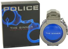 Police Colognes Police The Sinner Eau De Toilette Spray for Men (3.4 oz/100 ml)