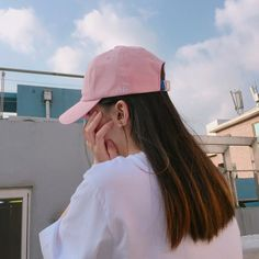 """ Basic Baseball Cap (pink) 에이비로드 28,000원 """