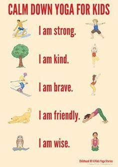 Calm Down Yoga Routine for Kids: Printable   Childhood101