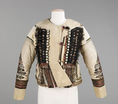 Jacket, late 19th century, Hungarian.