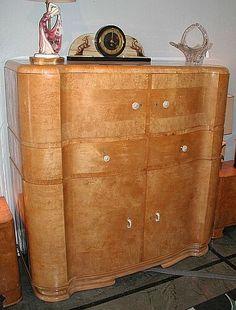 German Art Deco Cabinet