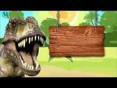 Convite Animado Dinossauro Grátis - YouTube Dinosaur Birthday Party, 7th Birthday, Festa Jurassic Park, Big Iguana, Iron Man Birthday, Alphabet Crafts, Festival Posters, T Rex, Party Themes