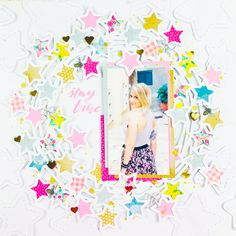 By Lisa Fonseca for In The Scrap August Challenge with Crate Paper by Maggie Holmes Designs August Challenge, Crate Paper, My Scrapbook, Scrapbooking Layouts, Crates, Lisa, Challenges, Projects, Blog