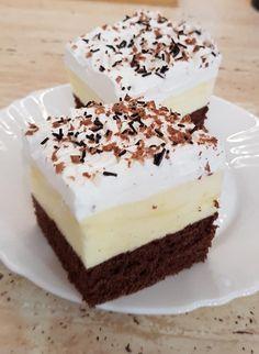 Biztosan kedvenc lesz nálatok is! Hungarian Desserts, Hungarian Cake, Sweet Recipes, Cake Recipes, Dessert Recipes, Creative Food, Cake Cookies, No Cook Meals, Easy Desserts