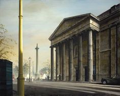 ✽   felix kelly  -  the old building of the royal college of physicians, pall mall'