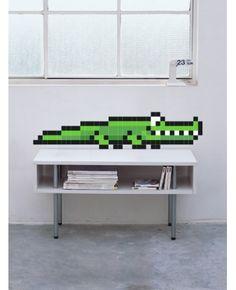 Stickaz :: Crocodile - Stickers Muraux