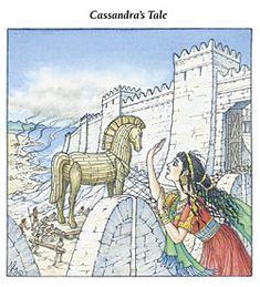 Myth of Cassandra illustration - Google Search