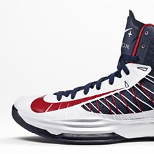 USA Hyper Dunks.
