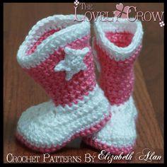 Baby Crochet Pattern Baby for Baby Goshalosh Boots by ebethalan