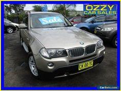 2007 BMW X3 E83 MY07 3.0SI Gold Automatic 6sp A Wagon #bmw #x3 #forsale #australia