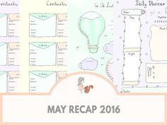 May Recap 2016 | www.sweetestchelle.com Map, Blog, Location Map, Maps