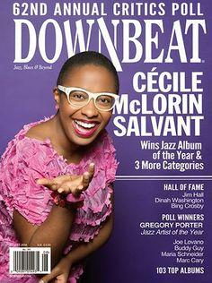 Confira os premiados da edição 62 da Downbeat Critics Poll. Destaque para as vozes de Cécile Mcloren Salvant, Gregory Porter e a compositora e arranjadora Maria Schnider.