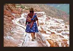 salt pans salinas peru - Google Search