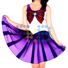 Vestido de licra de #SailorSaturno #cosplay #SailorMoon #fkb