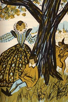 """Favorite Fairy Tales Told in France,"" illustrated by Roger Duvoisin"