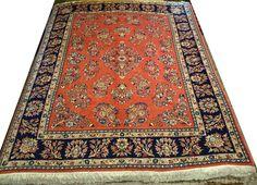 alfombras 200 x 250 | Alfombras barcelona   Alfombra Yazd Irán 245 x 202 cm Lana Ref: J – 347