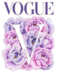 #springfashion #spring #flowers #peony #pinkcolor #fashion #illustration #painter #design #vogue #voguemagazine #vogueflowers…