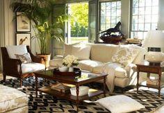 Tropical Interiors for City Living |  Dali & May